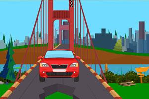 《修汽车逃离大桥》游戏画面1