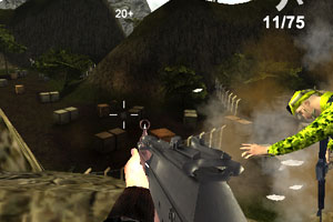 《子彈的力量》游戲畫面2