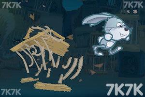 《兔子逃亡进行时无敌版》游戏画面1