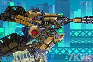 《组装机械坦克战士》游戏画面8