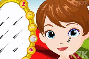 《索菲亚和琥珀的聚会装扮》游戏画面3