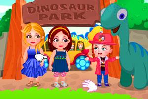 《可爱宝贝逛恐龙公园》游戏画面1