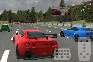 《野外飙车竞赛》游戏画面1
