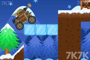 《冬季坦克挑战赛》游戏画面1