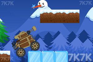 《冬季坦克挑战赛》游戏画面3