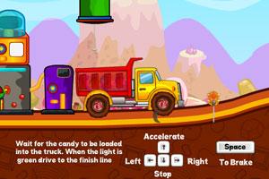 《糖果运输卡车》游戏画面2