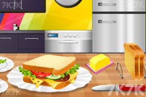 《三明治午餐》游戏画面4