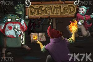 《巫师传奇》游戏画面1