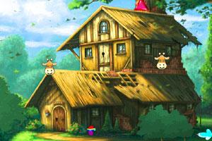 《逃离蘑菇小屋》游戏画面1