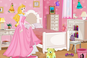 《奥罗拉公主布置房间》游戏画面1