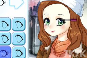《冬季约会造型》游戏画面3