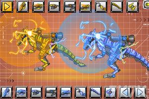 《机械迅猛龙扭蛋》游戏画面1