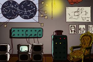 《神秘地下室逃脱》游戏画面1