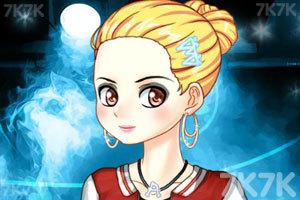 《漂亮女孩的晚礼服》游戏画面1