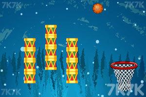 《圣诞节投篮》游戏画面2