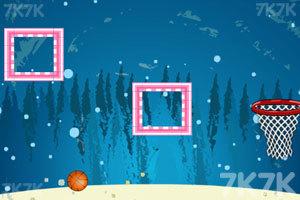 《圣诞节投篮》游戏画面3