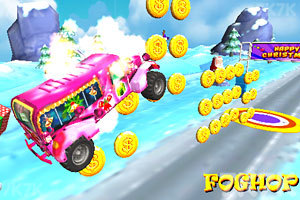 《圣诞老人开卡车》游戏画面5