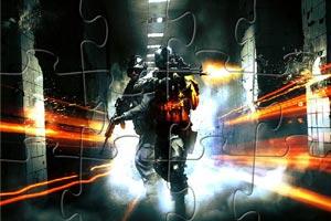 《战场射击拼图》游戏画面1