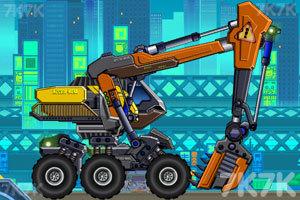 《组装机械挖掘机》游戏画面5