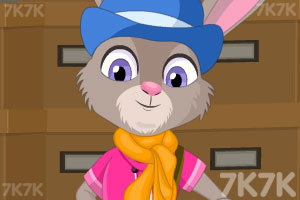 《可爱兔子霍普》游戏画面1