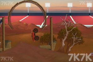 《大脚车难度挑战赛》游戏画面3