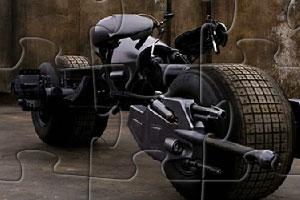 蝙蝠侠摩托拼图