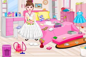 《花姑娘整理房间》游戏画面1