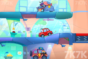 《小汽车总动员7》游戏画面3