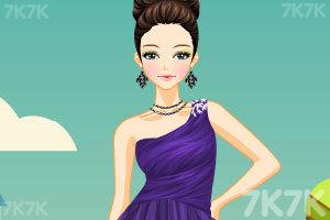 《单肩雪纺裙》游戏画面3