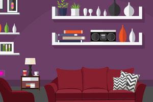 《逃出紫色的家》游戏画面1