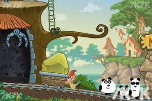 《小熊猫逃生记5选关版》游戏画面3