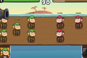 《猴子海盗大作战》游戏画面1