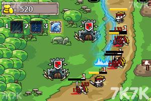 《皇城守卫选关版》游戏画面4