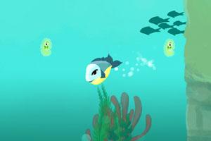 《勇敢小鱼灭细菌》游戏画面1