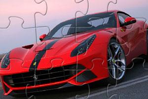 《法拉利F12拼图》游戏画面1