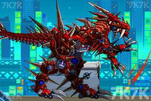 《组装暴力霸王龙》游戏画面5