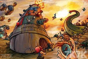 《荒地围攻》游戏画面1