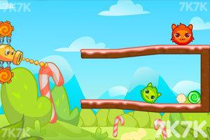 《红色和绿色选关版》游戏画面5