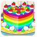 五颜六色的蛋糕
