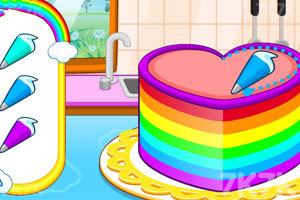 《五颜六色的蛋糕》游戏画面6