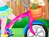女孩的自行车