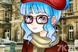 《眼镜萌娘》游戏画面2