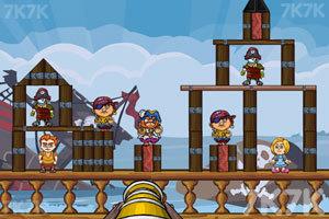 《征服海盗》游戏画面2