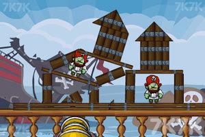 《征服海盗》游戏画面3