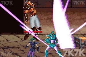 《圣斗士星矢之银河战争》游戏画面2