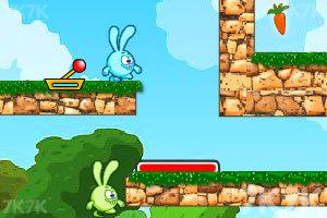 《开心小兔大闯关》游戏画面2