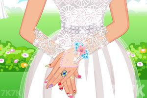 《完美婚礼美甲》游戏画面1