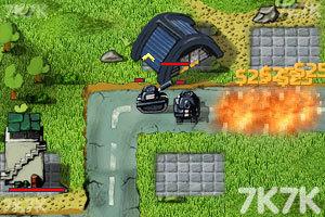 《坦克防御大战无敌版》游戏画面2