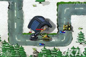 《坦克防御大战无敌版》游戏画面4