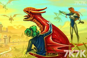 《龙族要塞无敌版》游戏画面1